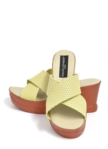 David Jones Sandalet Sarı